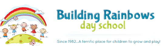 Building Rainbows Day School Logo